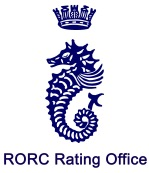 Seahorse RORC RATING blue