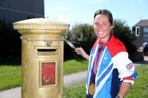 Olympian Helena Lucas MBE.