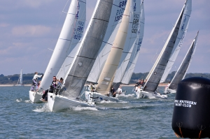 Royal Southern Yacht Club AVEVA September Regatta Sunday 20 September 2015 J80 fleet